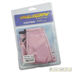 Coifa da alavanca do freio de mão - alternativo - universal - rosa - cada (unidade)