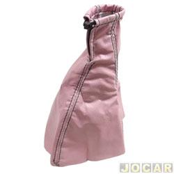 Coifa da alavanca de câmbio - universal - rosa - cada (unidade)