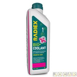 Aditivo para radiador - Radiex - rosa - Bio coolant pronto uso - 1 Litro - cada (unidade) - R-1892 - PS2G