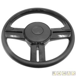 Volante - Haste - Rally - preto - cada (unidade) - H2-001