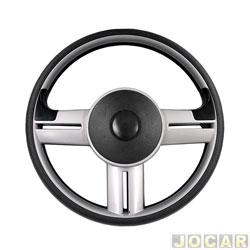 Volante - Haste - Rally slim - prata - cada (unidade) - H2-002SLIM