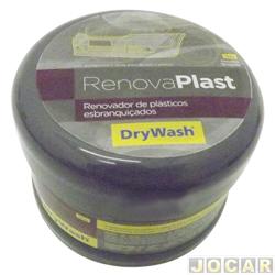 Restaurador para plástico e borracha - DryWash - renova peças esbranquiçadas - 120g - cada (unidade) - 5250020007