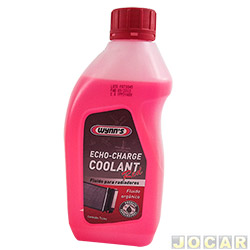 Aditivo para radiador - Wynn's -  Charge 50 / 50 - (Rosa) 1 litro - cada (unidade) - 41030440