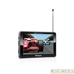 GPS (navegador) - Multilaser - Tracker 2 - com tela de 5 - com TV/FM - MP/SD/WMA/USB - cada (unidade) - GP036