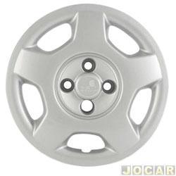Calota aro 14 - Grid - Corsa 2003 - cubo alto - prata - cada (unidade) - 058
