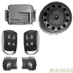 Alarme para autom�veis - P�sitron - Cyber PX330 - com controle remoto de presen�a DPN54 - cada (unidade) - 012581000