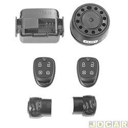 Alarme para autom�veis - P�sitron - Exact Cyber EX330 - cada (unidade) - 012583000