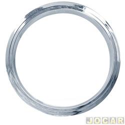 Calota aro 13 - NK Brasil - aro para roda - de encaixe - cromado - cada (unidade) - 0966