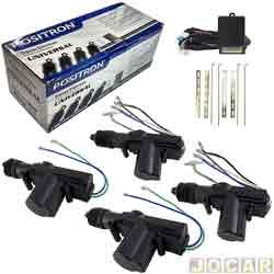 Trava elétrica - Pósitron - linear universal - 4 portas - jogo - TR410-012594000