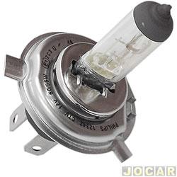L�mpada do farol - Philips - moto - H4 12V 60/55W - CityVision - 40% mais luz - cada (unidade) - 12342CTVBW