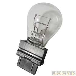 Lâmpada - Magneti Marelli - 2 polos base de plástico - esmagada - P27/7W - cada (unidade) - LMM3157