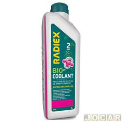 Aditivo para radiador - Radiex - Bio coolant super concentrado rosa - para 2 anos - 1 Litro - cada (unidade) - R-1964