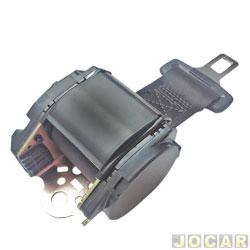 Cinto de segurança - alternativo - retrátil 2 pontos universal - Belt Car - preto - cada (unidade)