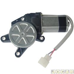 Motor da máquina de vidro - alternativo - encaixe universal - 10 dentes - lado do motorista - cada (unidade)