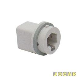 Soquete da lanterna dianteira - alternativo - 1 polo - modelo universal - cada (unidade)