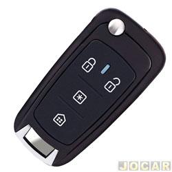 Controle para alarme - P�sitron - p/ chave canivete-para alarmes P�sitron linha 2000 em diante - cada (unidade) - PX80