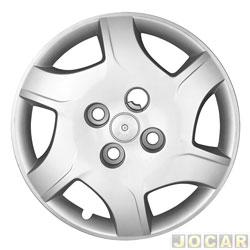 Calota aro 13 - Podium - Celta 2011 até 2013 - prata - cada (unidade) - P482