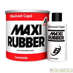 Massa plástica - Maxi Rubber - 400 gramas-com catalisador - branca - cada (unidade) - 705513
