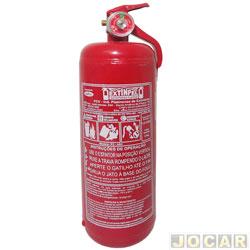 Extintor de incêndio - Extinpel - pó ABC - 2 kg - caminhão/pick-up - ler descrição detalhada - cada (unidade) - 705530