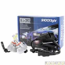Kit lâmpada led do farol - Shocklight - HB4 35W 3200 lúmens - Headlight - jogo - SLL-19006