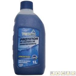 Aditivo para radiador - Techbio - protetivo biodegradavel - 1 litro  - azul - cada (unidade) - TB021