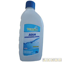 Água desmineralizada - Techbio - 1 litro - cada (unidade) - TB001