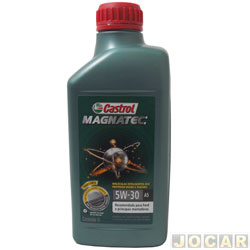 Óleo do motor - Castrol Magnatec - SAE 5W/30 - 100% sintético - 1 litro - cada (unidade)