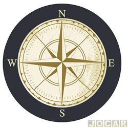 Capa de estepe - Comix Acessórios - EcoSport/CrossFox/AirCross 2010 até 2015/Spin -  Compass - cada (unidade) - CC523