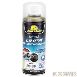 Limpador de ar condicionado - AutoShine - refresh aroma de herbal - 250mL - cada (unidade) - 11516
