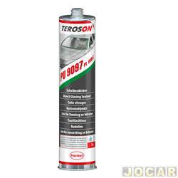 Cola de para-brisa - Loctite - teronson terostat 9097 PL HMLC - cartucho 310 mL - 1 horas - cada (unidade) - 1333249