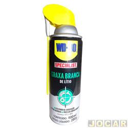 Graxa - WD-40 - branca de lítio - especialist - em spray - 400 ml - cada (unidade) - 497681