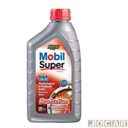 Óleo do motor - mineral - Mobil Super Protection 15W-40 - cada (unidade)