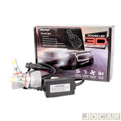 Kit lâmpada led do farol - Shocklight - power led 3D - HB4 40W 3600 lúmens - Headlight 6000K - jogo - SLL-29006