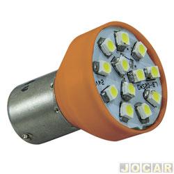 Lâmpada de led - Autopoli - Lanterna 1 polo - com led amarela - pinos desencontrados - par - AP 053