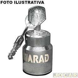 Trava de estepe - Travas Arad - Renegade 2014 em diante - Tucson 2004 em diante - Corolla 2003 em diante - jogo - AR.097