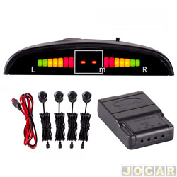 Sensor de estacionamento - Roadstar - universal fixado no retrovisor - preto - cada (unidade) - RS-104BR