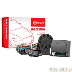 Alarme para automóveis - Taramp's - Keypass com controle remoto de presença - cada (unidade) - 900474