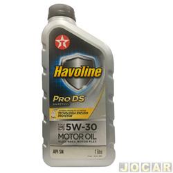 Óleo do motor - Havoline - SAE 5W-30 API SN Pro DS sintético - 1 Litro - cada (unidade) - 706041