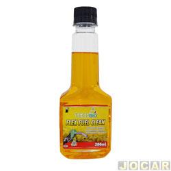 Aditivo do combustível - Techbio - 200 ml - flex fuel clean - cada (unidade) - TB 019