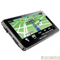 GPS (navegador) - Multilaser - Tracker 2 - tela de 7 - com TV/FM - cada (unidade) - GP015