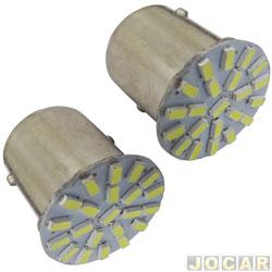 Lâmpada de Led - importado - Lanterna 1 polo - com 22 leds - par - 014