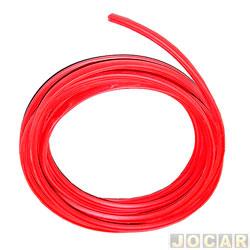 Friso do para-choque - alternativo - Universal  - vermelho - metro