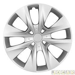 Calota aro 14 - Grid - Peugeot 206/207/208/307 - cada (unidade) - 410CB PCA-U