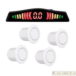 Sensor de estacionamento - Dazz - branco - cada (unidade) - 5272