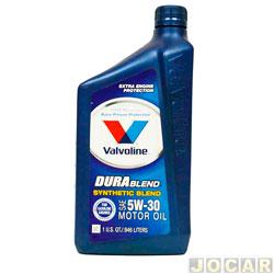 Óleo do motor - Valvoline - Durablend - SAE 5W-30 - 1 L - cada (unidade) - 706561