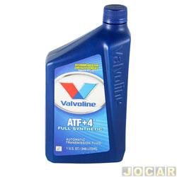 Óleo do câmbio - Valvoline - ATF+4 Sintético - 946 ML - cada (unidade) - 706578