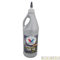 Óleo do câmbio - Valvoline - Syn Power Gear Oil - LS 75W-140 - 946 Ml - cada (unidade) - 706582