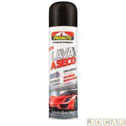 Lava auto a seco - Proauto - sem água - 400mL - cada (unidade) - 2163