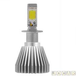 Kit lâmpada led do farol - H-Tech - H3 - 32 W - 2800 - Lumens 6000 K - jogo - HT-XLH3