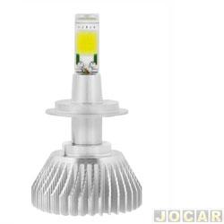 Kit lâmpada led do farol - H-Tech - H7 - 32 W - 2800 - Lumens 6000 K - jogo - HT-XLH7